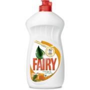 Detergent Lichid Spalat Vase Fairy Portocale si Lemongrass 500ml