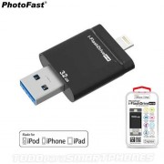Lector con Memoria PHOTOFAST i-FlashDrive Evo 32GB