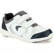 Clarks Boy's White Sports Shoes - 2 kids UK/India (17.5 EU)
