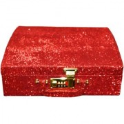 Pride Rolly to store cosmetics Vanity Box (Red)