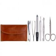 Magnum Feel The Style set para una manicura perfecta en estuche de cuero sintético Napa 220 6 ud