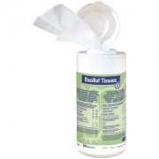 Paul Hartmann AG Bode Bacillol® Tissues Desinfektionstücher, Aldehydfreie, alkoholische Schnell-Desinfektionstücher, Spenderdose mit 100 Stück