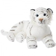Laying White Tiger Cuddlekin 16 by Wild Republic