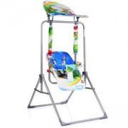 Детска градинска люлка Funny, Moni, синя, 356196