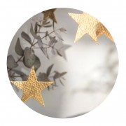 Solhem Malin appelgren juldekoration stjärna mässing