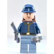 Lego Lone Ranger Minifigure: Calvary Soldier 3 with Rifle & Frying Pan