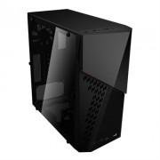 Caixa AEROCOOL CYBERX ADVANCE ATX FULL ACRYLIC WINDOW, USB3.0, SD CARD READER - CYBERXAD