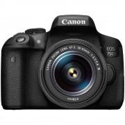 Canon EOS 750D Aparat Foto DSLR 24.2MP Kit cu Obiectiv EF-S 18-55mm III DC