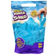 Пясък за моделиране в Пликче, син цвят, Kinetic Sand, 025510
