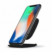 ZENS fast wireless charger stand base 10W zwart