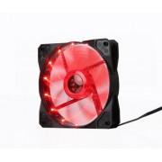 Hladnjak za kuciste MARVO FN-10 LED LIGHT RED 120x120x25mm