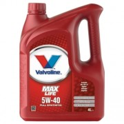 Valvoline MaxLife Synthetic 5W-40 Engine oil 4 Litre Can