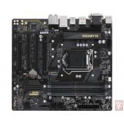 Gigabyte GA-B250M-D3H, Intel B250, VGA by CPU, 2xPCI-Ex16, 4xDDR4, 1xM.2/SATA Express, VGA/DVI/HDMI/DP/USB3.1(Gen1), mATX (Socket 1151)