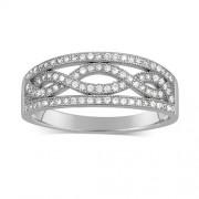 Silvego Stříbrný prsten AIDA - JJJR0120