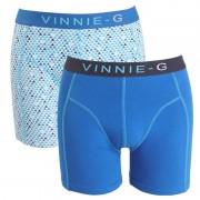 Vinnie-G boxershorts Blue Sky - Print 2-pack-S