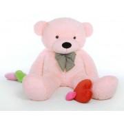 Pink 3.5 Feet Bow Teddy Bear