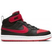 Nike Court Borough Mid 2 - sneakers - bambino - Black/Red