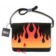 kézitáska IRON FIST - Fire Sign - Fekete - SÉRÜLT - BEA095