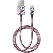iDeal of Sweden iDeal Fashion Cable Lightning 1 M Peony Garden