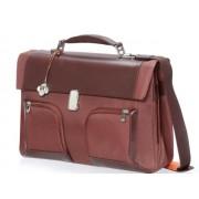 "Carry Case, Samsonite S-Teem-Briefcase 2 Gussets, 16.4"", Rusty (34U.06.002)"