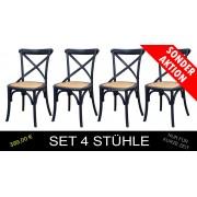 Stühle Set 4-teilig Master X