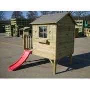 Dětský zahradní domek TOMEK se skluzavkou