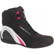 Dainese Motorshoe Air JB Damenschuhe Schwarz Pink 40