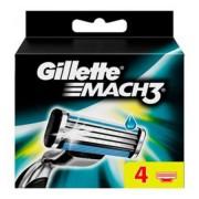 Gillette Mach 3 - wkłady do maszynki do golenia, 4 sztuki