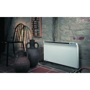 ADAX Glamox TPA 15 1500 W Fehér energiatakarékos radiátor, elektromos fűtőpanel Programozható digitális termosztáttal
