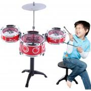 ER Niños Juguete Educativo Rock Drum Simulación Instrumentos Musicales