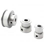 Aluminum 16/20/36T GT2 Aluminum Timing Pulley For DIY 3D Printer