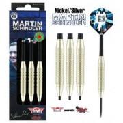 Bulls Steeldart Sets - Martin Schindler The Wall Nickel Silver 22g