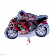 Balon folie figurina Sport Motorcycle, Amscan 24773