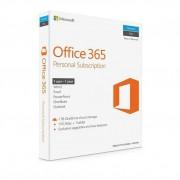 Microsoft Office 365 Personal 2019, 32/64 bit, Engleza, Subscriptie 1 an