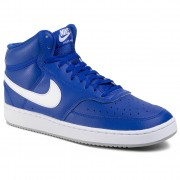Обувки NIKE - Court Vision Mid CD5466 400 Hyper Blue/White/Lt Smoke Grey