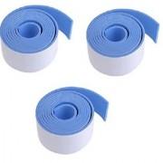 Kuhu Creations Premium Kid's Safety Furniture Edge Cushion Protector 2 meter Flat Bar Blue Tape. (3 Pcs)