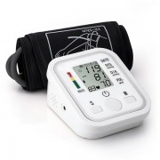 BANGPHY Upper Arm Electronic Digital Blood Pressure Pulse Monitor Portable Sphygmomanometer Meter Automatic