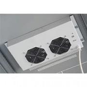 Intellinet Gruppo di 2 Ventole a Soffitto Senza Termostato per Rack 19'' Grigio
