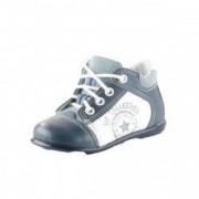 Pantofi ortopedici din piele naturala pentru baietei EMEL E 2069 Bleumarin 18