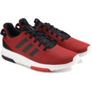 ADIDAS NEO CF RACER TR Running Shoes For Men(Red, Black)
