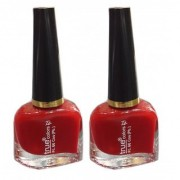 True Colors Red Nail Paint/Color (Set of 2)