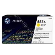 Тонер HP 653A за M680, Yellow (16.5K), p/n CF322A - Оригинален HP консуматив - тонер касета