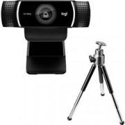 Logitech Full HD webkamera Logitech C922 Pro Stream, stojánek, upínací uchycení