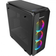 Chassis COUGAR PURITAS RGB Middle Tower,Mini ITX/Micro ATX/ATX, Dimension (WxHxD) 218x520x490(mm), Max. Graphics Card Length 425