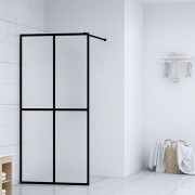 vidaXL Paravan de duș walk-in, 100 x 195 cm, sticlă securizată