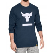 UNDER ARMOUR Rock Hardest Worker Long Sleeve Shirt Blue