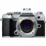 Olympus OM-D E-M5 Mark III Aparat Foto Mirrorless 20.4MP 4K Body Argintiu