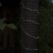 Kaemingk Ghirlanda luce intermittente LED bianca calda 8m