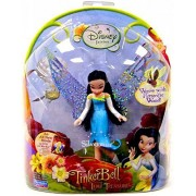 """Disney Fairies 3.5"""" Tinker Bell and the Lost Treasure Doll Works with Flitterific Wand-Silvermist"""