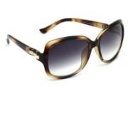 Eyeland Over-sized Sunglasses(Violet, Clear)